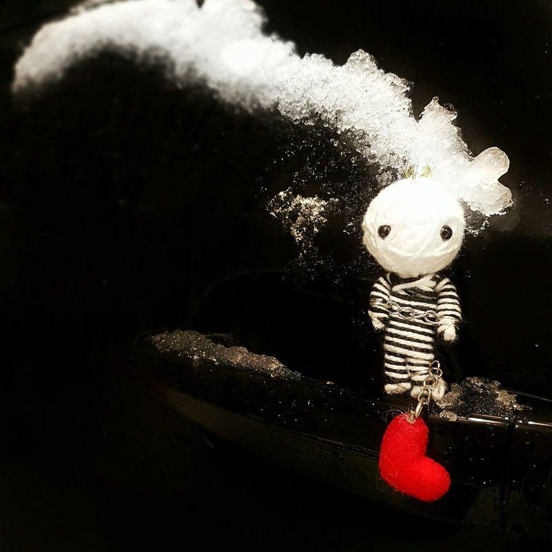 Guess I've forgotten my keys.. Indoors  No People Close-up Car Keychain Keys Keyshot Doll Heart Dolls Dollsphotography Heart Shaped  Hearts Red Redheart Carkeys First Eyeem Photo