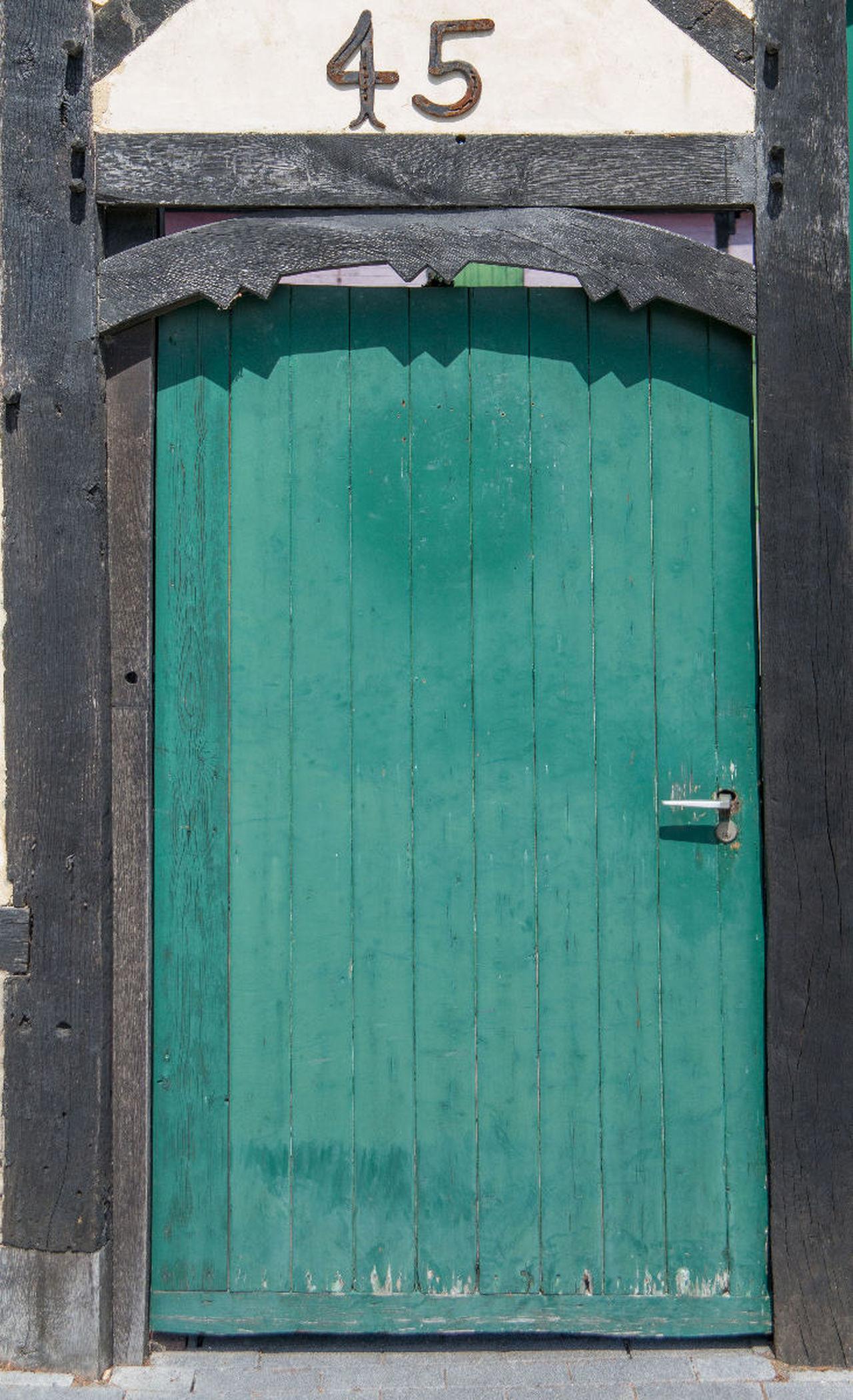 45 Door Fachwerk Pforte Timbering Tür