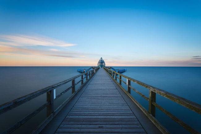 Rügen Sellin Seebrücke Long Exposure Seascape Fineart Smart Simplicity