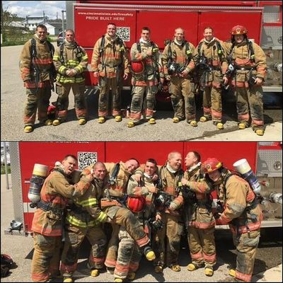 Today did not suck. Graduating from fire school with these clowns. Some of the best people I know @kappaml @r_schumann21 @matthew.x.070 @kaitlynuhrig4 @alicia89o7 @ffcord @babrownfield @mitchellcordell and some other istagramless others
