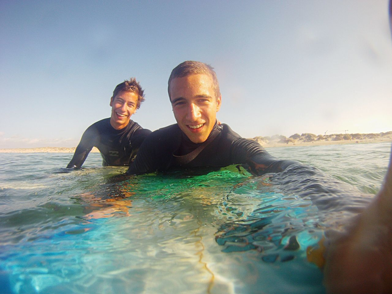 Enjoy The New Normal Surf Lifestyle Friend Sports Water Waves