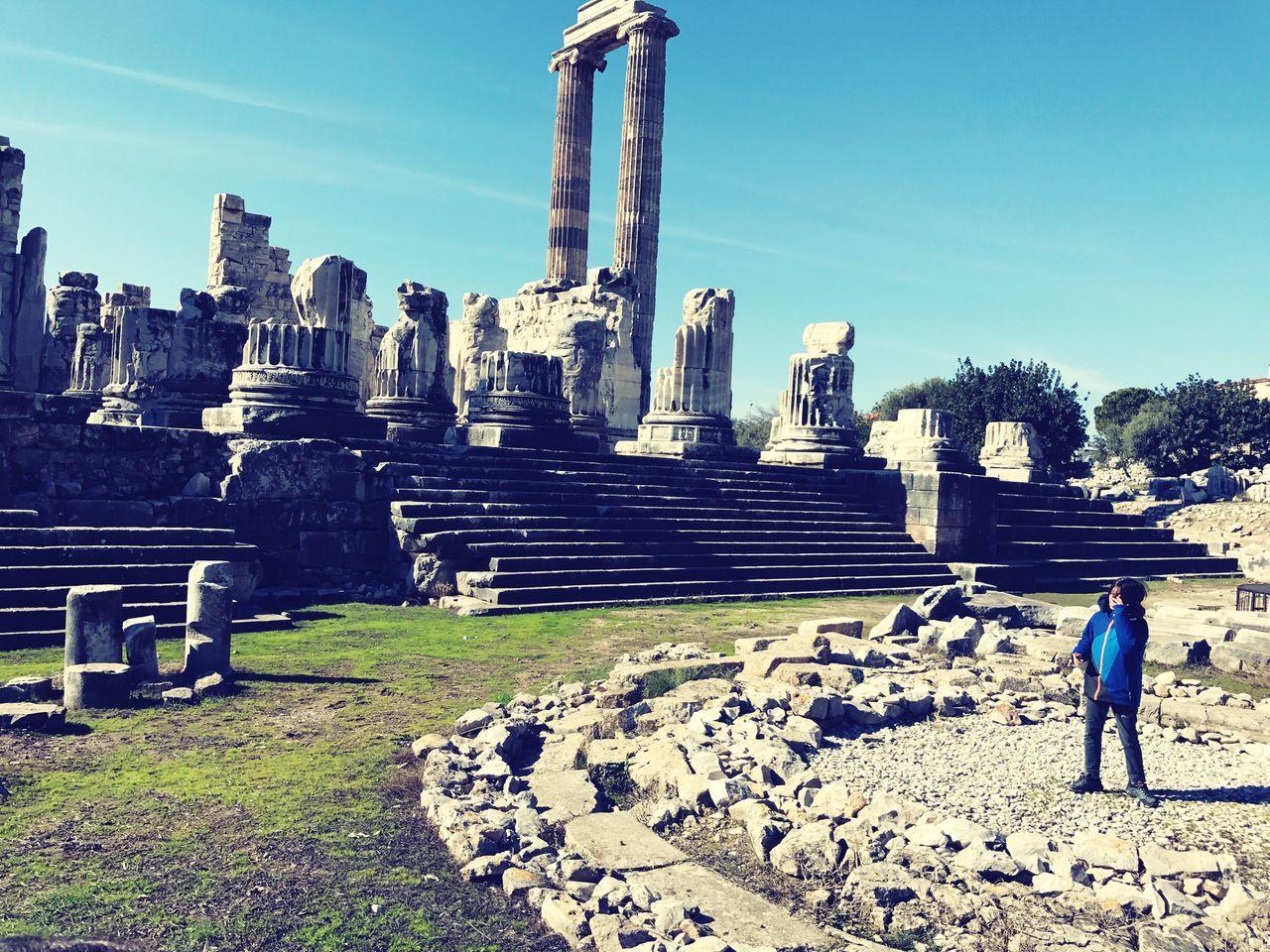 Didim Apollon History Historical Place Atom