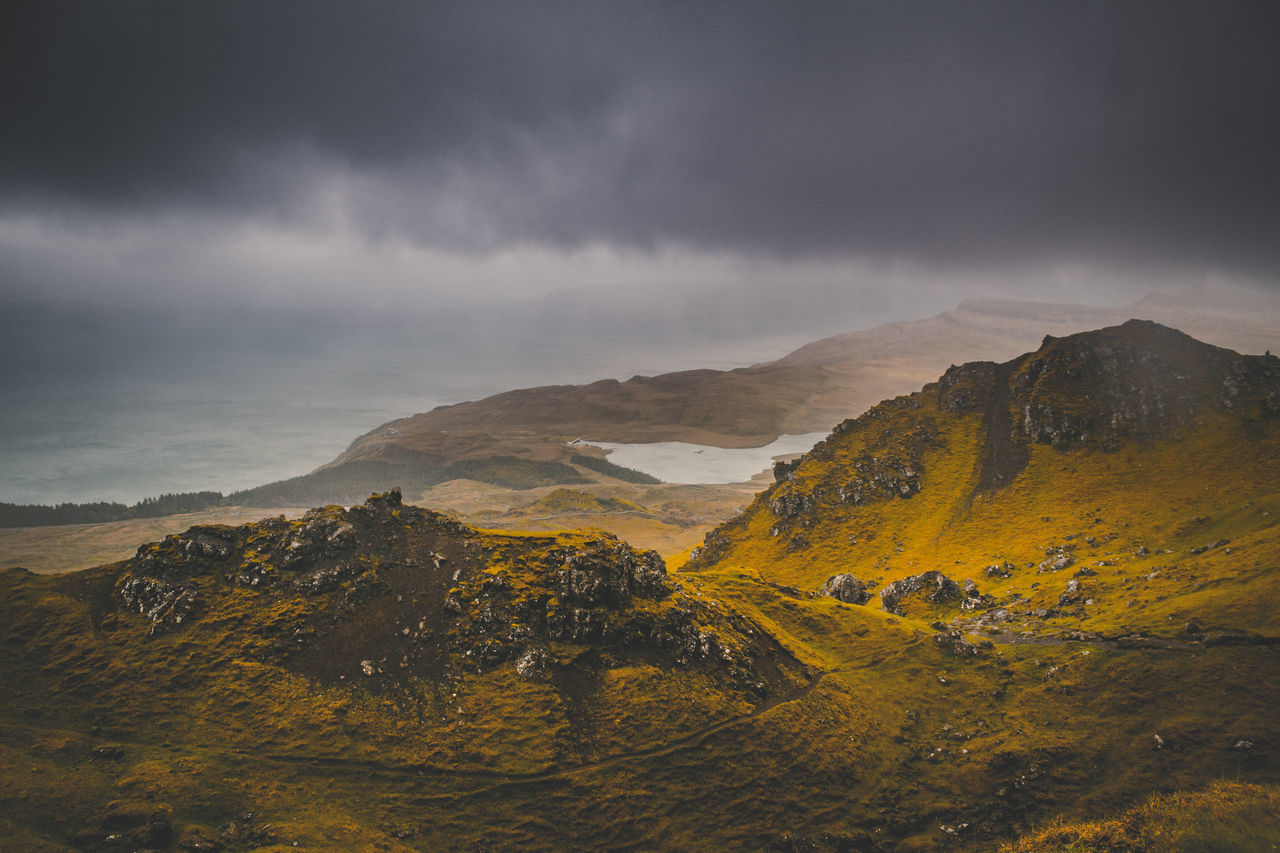 Landscape Mountain Outdoors No People Nature Cloud - Sky Rural Scene Sky Day Scenics Beauty In Nature Colorful The Great Outdoors - 2017 EyeEm Awards Love New Eye4photography  EyeEm Scotland Epic Travel EyeEm Best Shots Beauty In Nature Travel Destinations Tranquil Scene Hiking