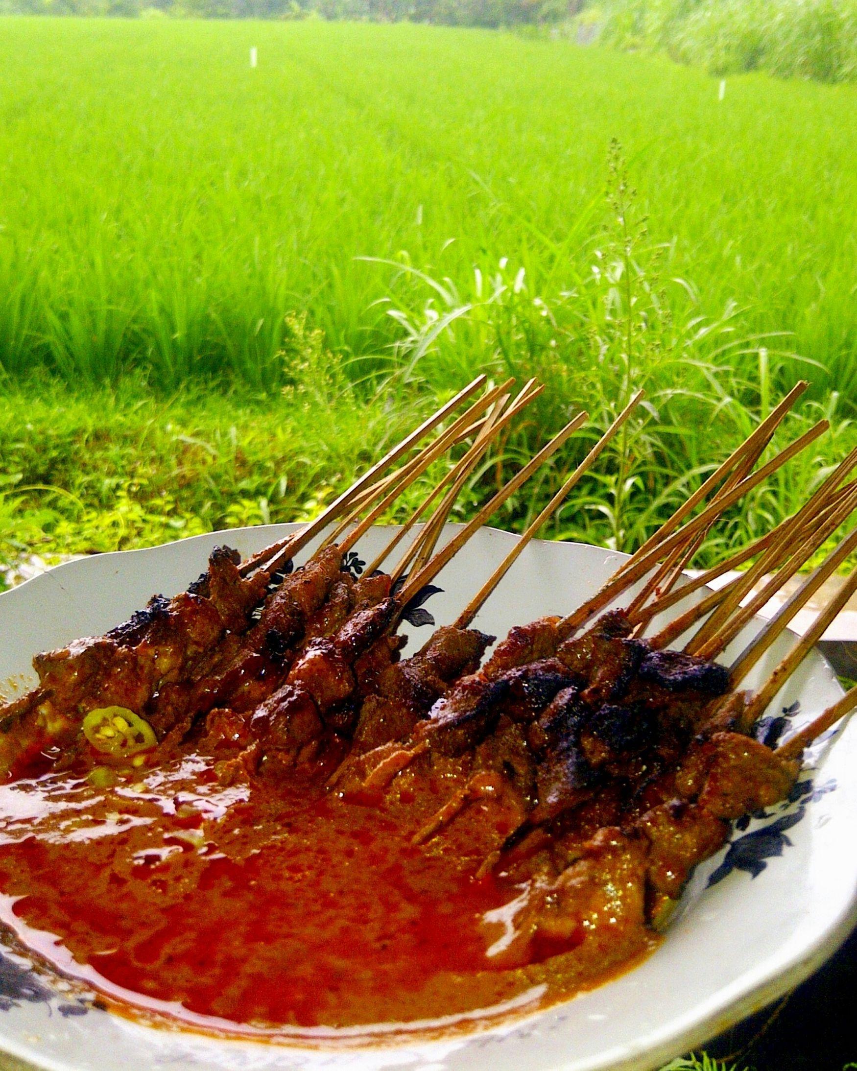 Sataaaayyyy!!! Lombok-Indonesia Culinary Farmerland TravelRack Village Mobilephotography