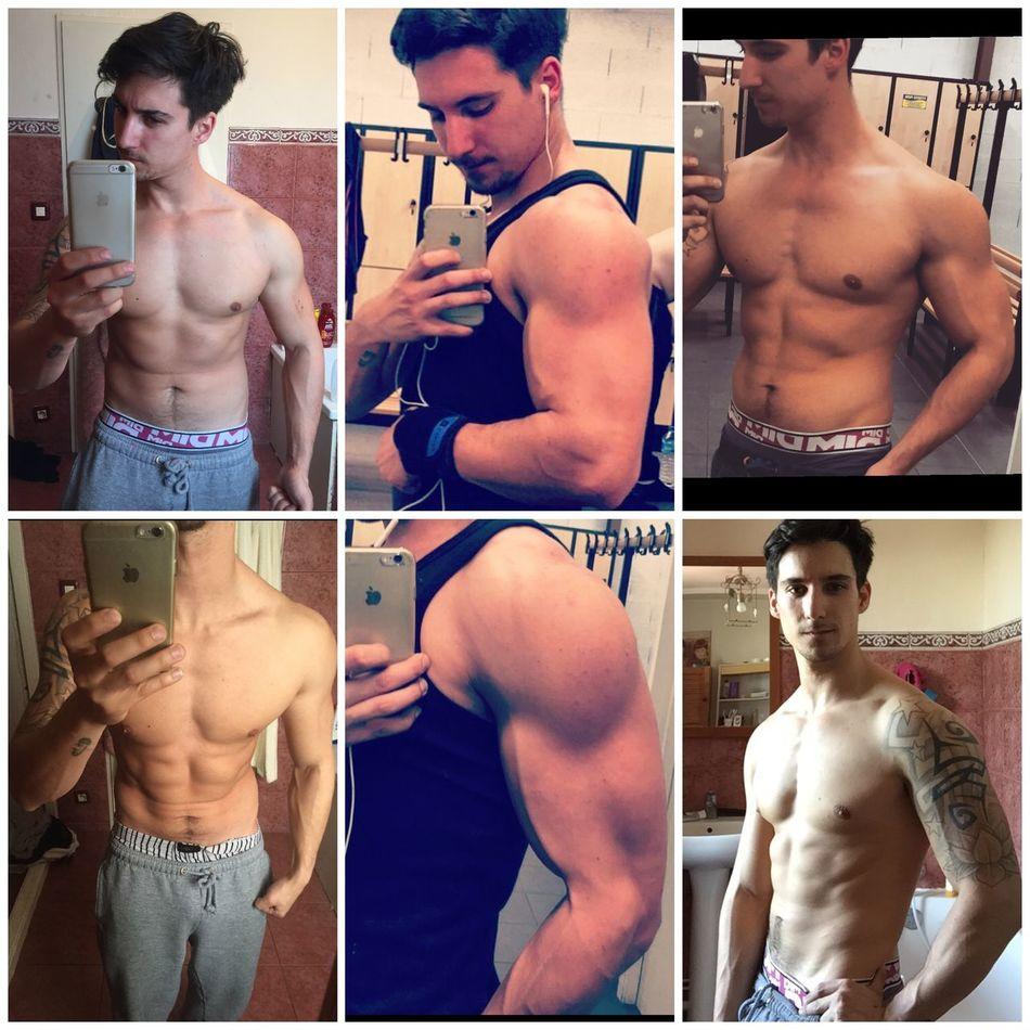 Évolution en 3 mois et demi de Muscu moins 11kg on continue la sèche.. Biceps Musculation  Veins Seche Triceps Chest Shoulder Bras