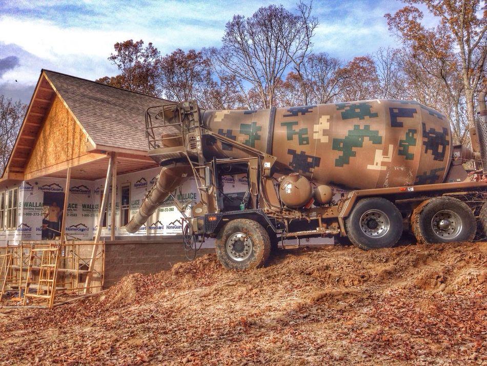 Concrete Truck  Workstuff