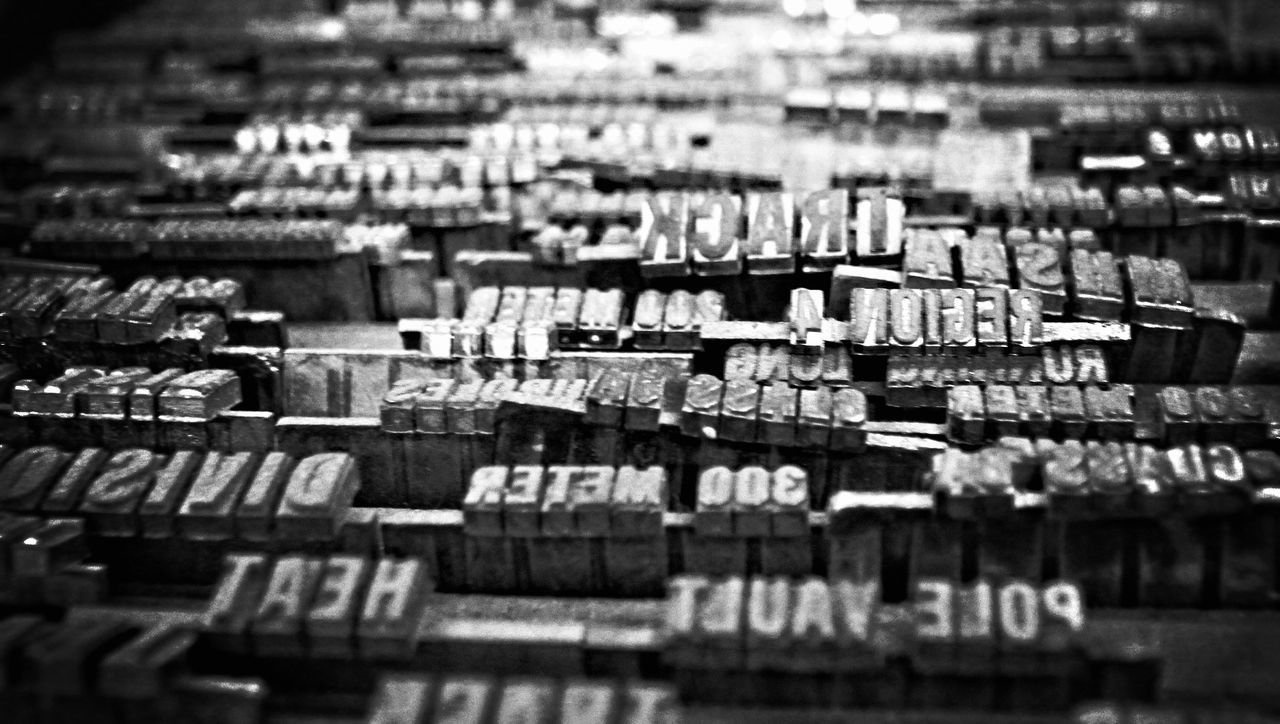 Alphabet Alphabetography Creative Power Designing Font Full Frame Indoors  Letters Moveable Types No People Print Blocks Printing Process Randomness Text Typefaces Words
