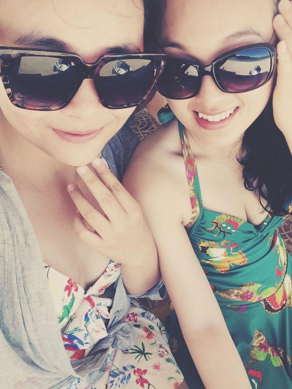 Sanya With My Sisiter:) Hello World Relaxing Enjoying Life Traveling