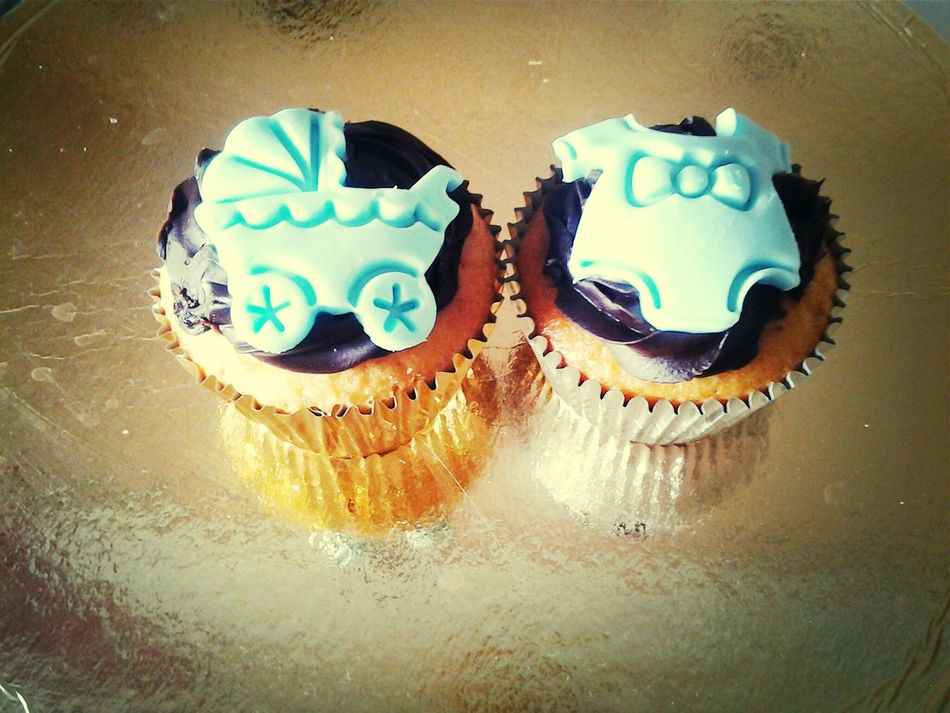 Cupcakes Naissance Au Repas De Famille