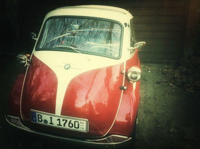 Vintage Cars Oldtimer Isetta My Fuckin Berlin
