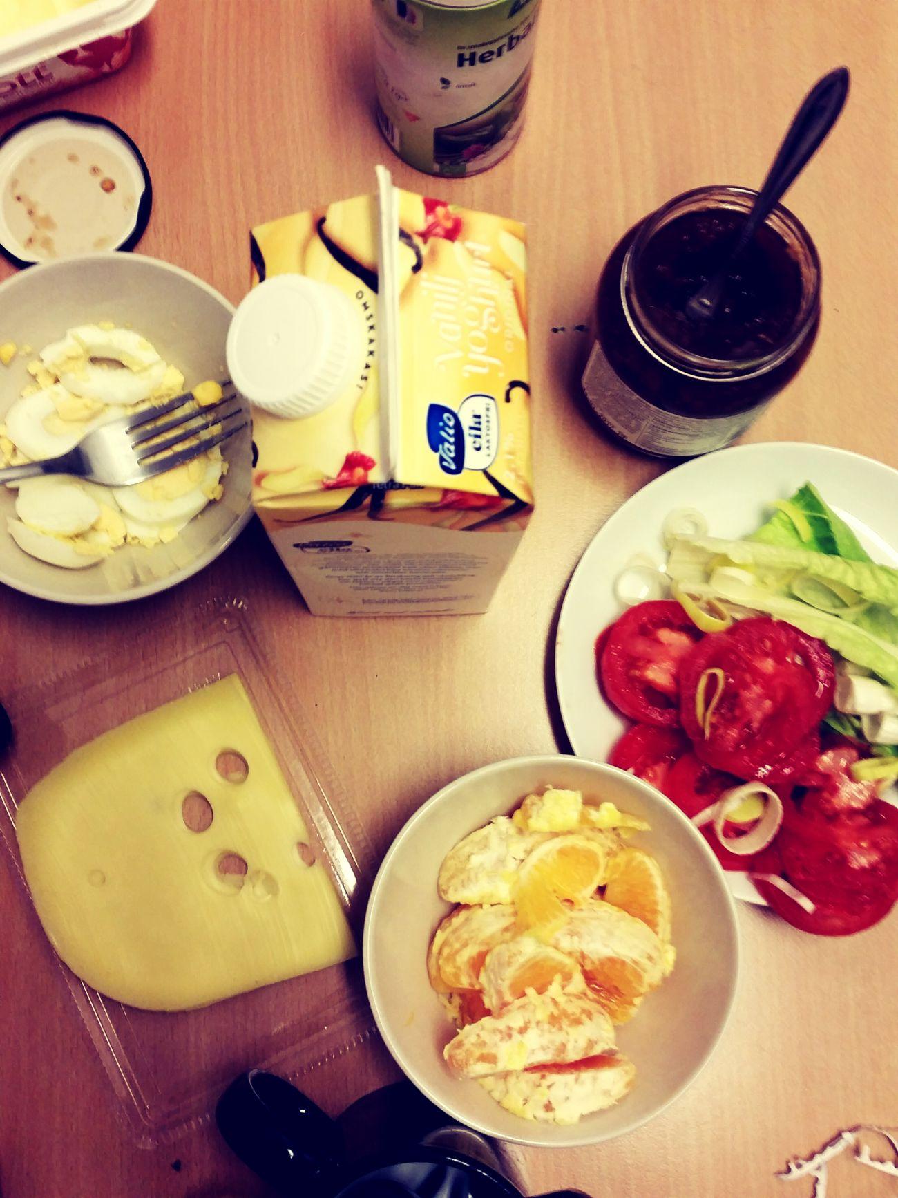 Breakfast at work! Breakfast Saturday Working SS Foto