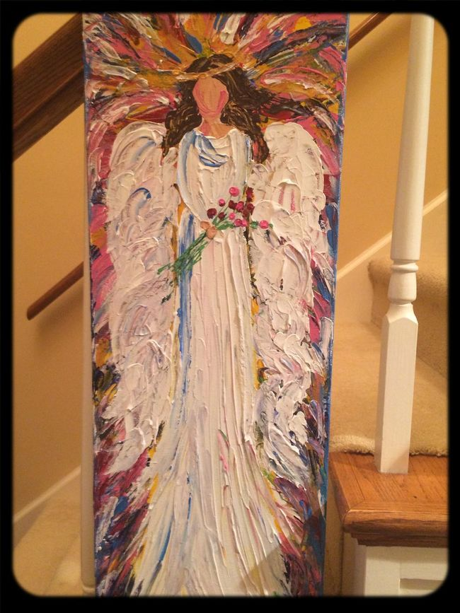A special angel painted for a special friend :-)