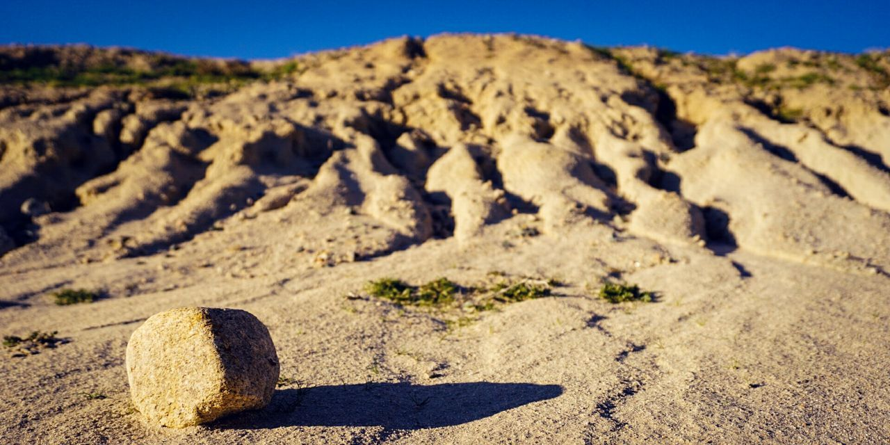 Sand Nature One Person Outdoors Clear Sky Adult Close-up Landscape Random Acts Of Photography Alpha6000 Followme Perspective Rock - Object Water Erosion