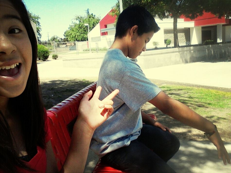 Hanging Out With My Brother ♥
