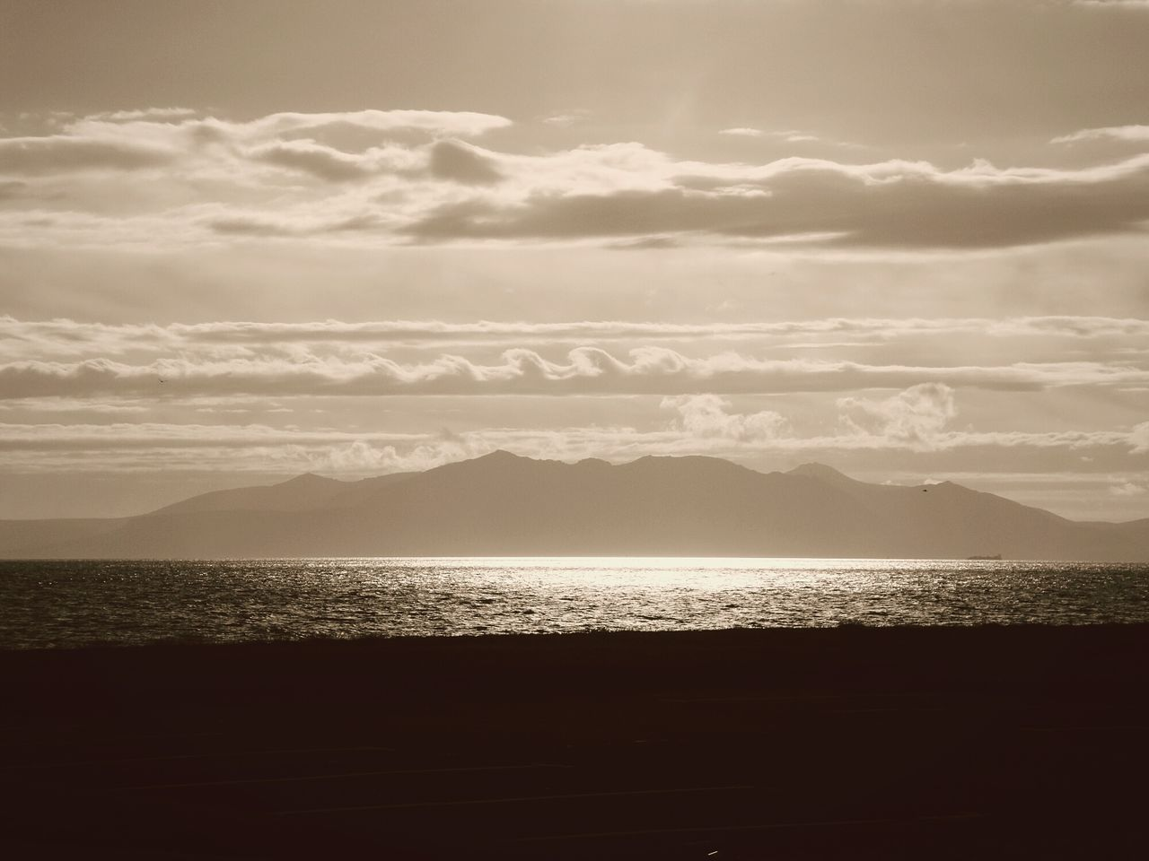 Arran  Scotland Island Ocean Shiny Sunny Landscape Water Outdoors Day Sky Beauty In Nature Nature No People Mountains Coast