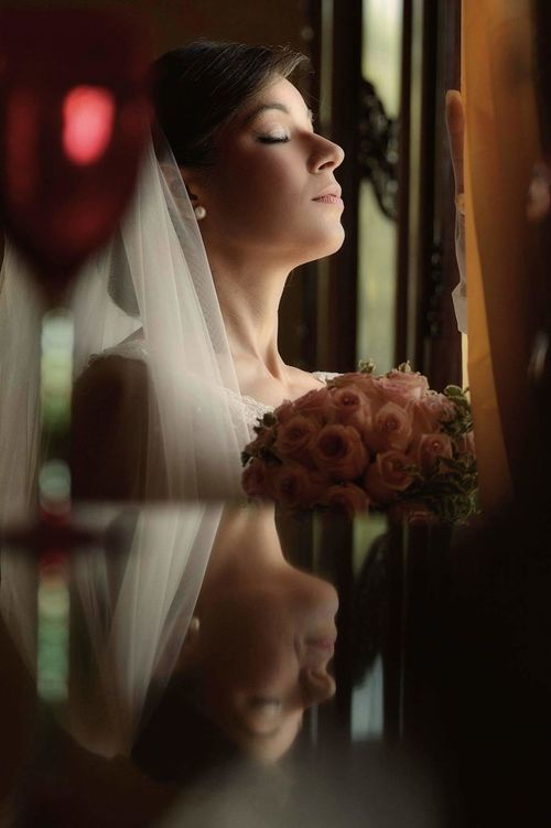 One Person Window One Woman Only Looking Through Window Indoors  Day Couple - Relationship Wedding Day Elégance Standing People Bride Wedding Dress Love Beautiful People Real People
