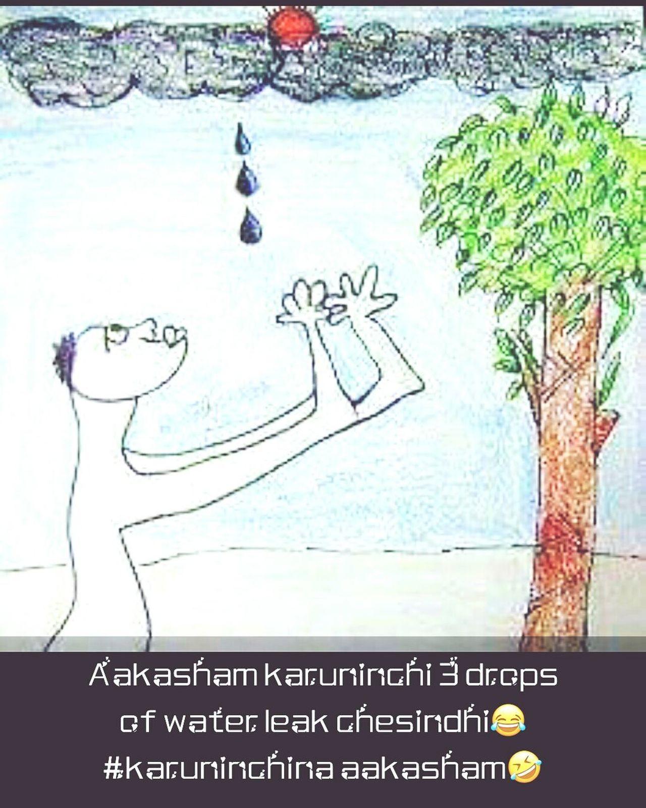 Drawing - Art Product Raindrops Drops💧 Nature Threedrops