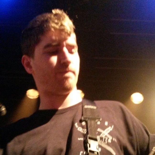 @jasoncameron_ playing his guitar last night Jasoncameron Burytomorrow Runes Teambt