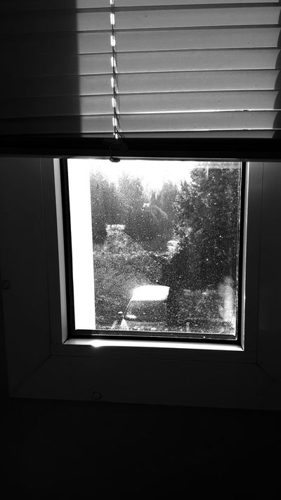 Window View From The Window... Store Sun After The Rain Sunlight Sunlight Reflection Blackandwhite Black And White Photography Angles Angles And Lines Inside Monochrome Photography EyeEm Gallery Eyemphotography Eye4photography