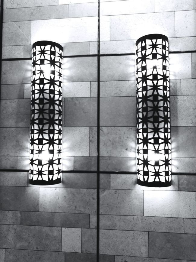 Hello World Check This Out Lights Monochrome Black And White Fine Art Photography Pattern Pieces Wall Decoration Wall Lights Photography Dubai❤ UAE Decoration