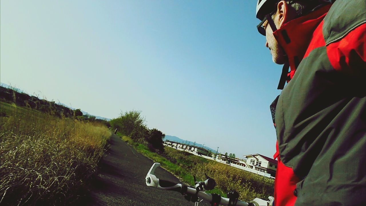 Cycling Shot Cyclinglife Cycling Around Cyclephotography Cyclingphotos Japan Photography Sky Bicycle Bicycles In Japan Getoffyourass Perspective Dontdothisathome