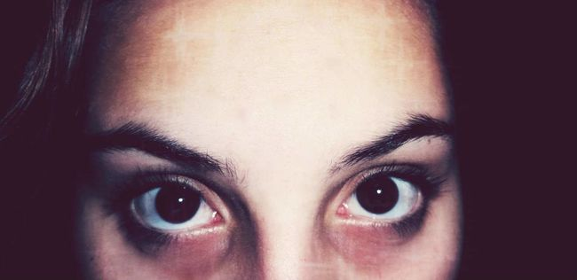 The Five Senses That's Me Eyes Light And Shadow