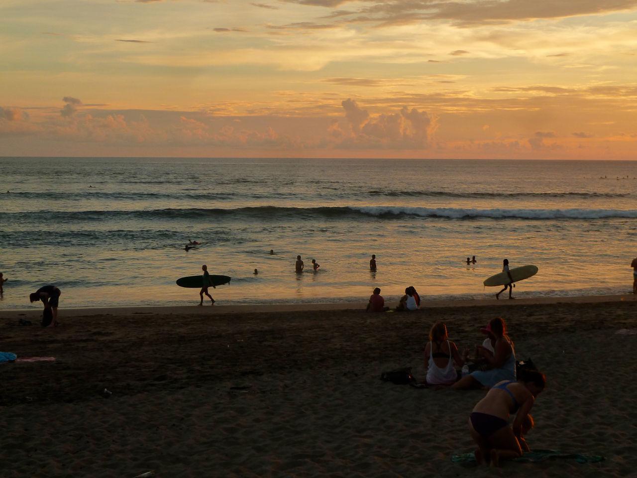 Beautiful stock photos of bali, Beach, Cloud, Day, Group Of People
