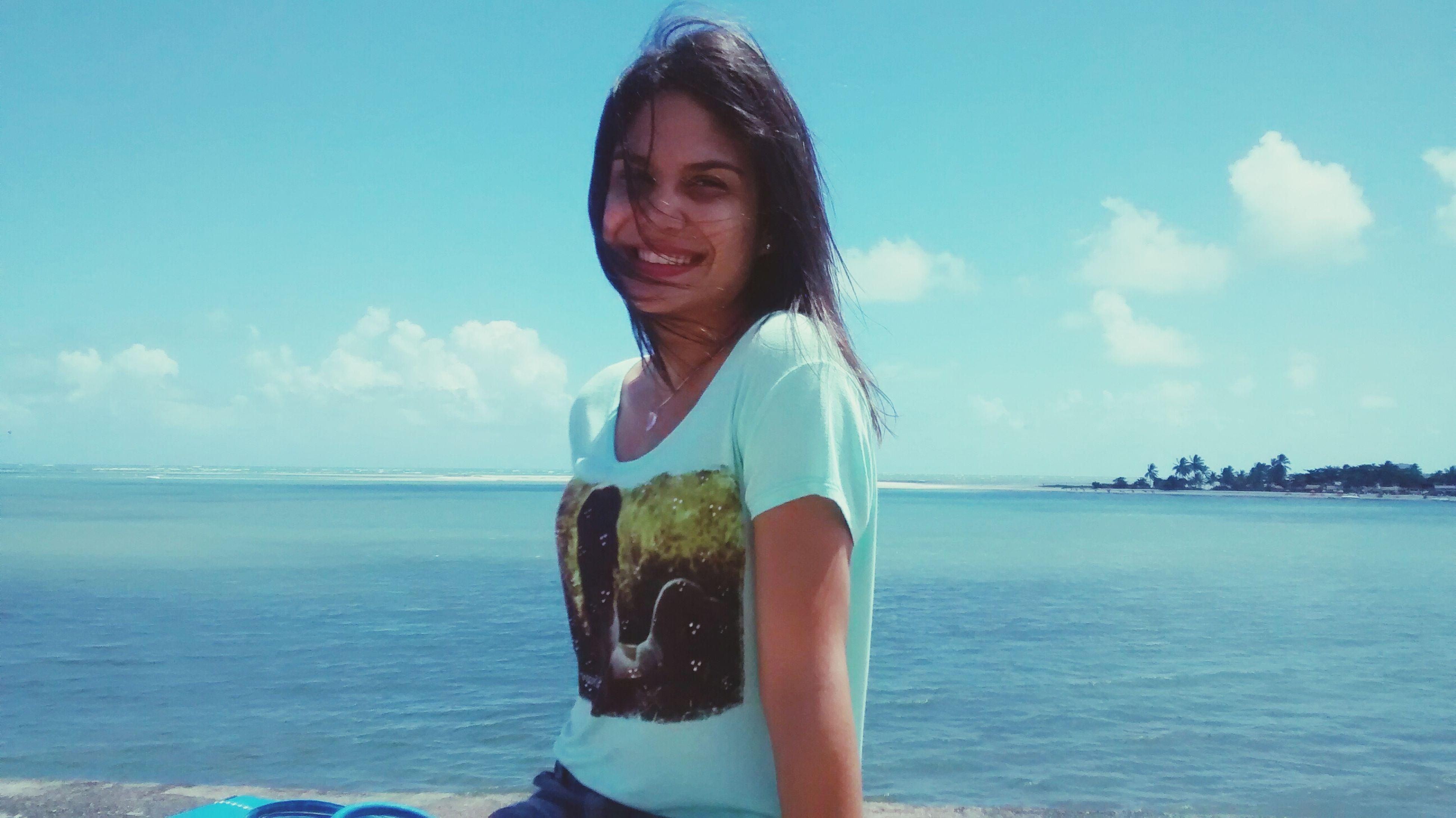 Céu e mar Sky Blue Ocean