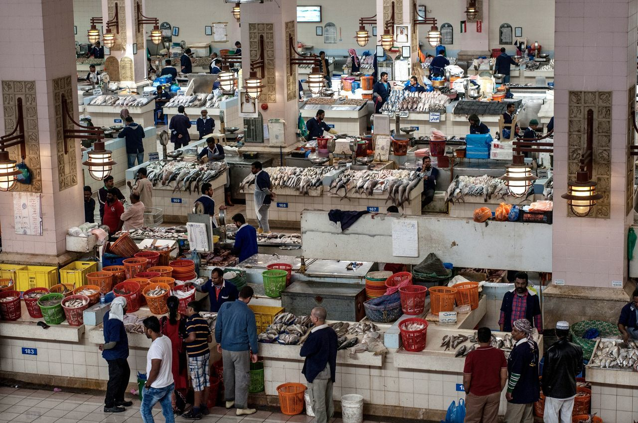 The calm before the delerium of the fish auction begun... Buying Fish Fish Fish Market Large Group Of People Lifestyles Real People The Photojournalist - 2017 EyeEm Awards The Street Photographer - 2017 EyeEm Awards View From Above