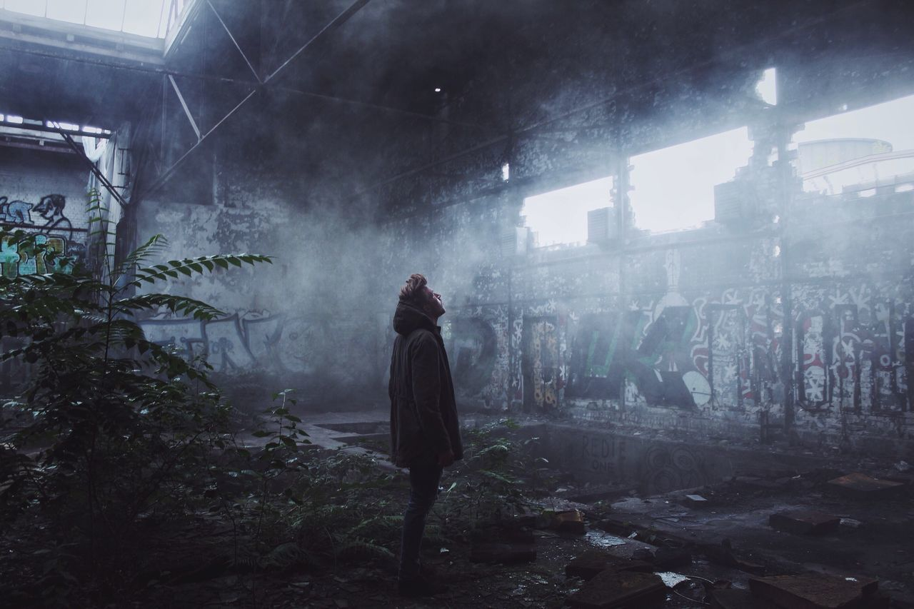 Foggy Lostplaces Smoke - Physical Structure People