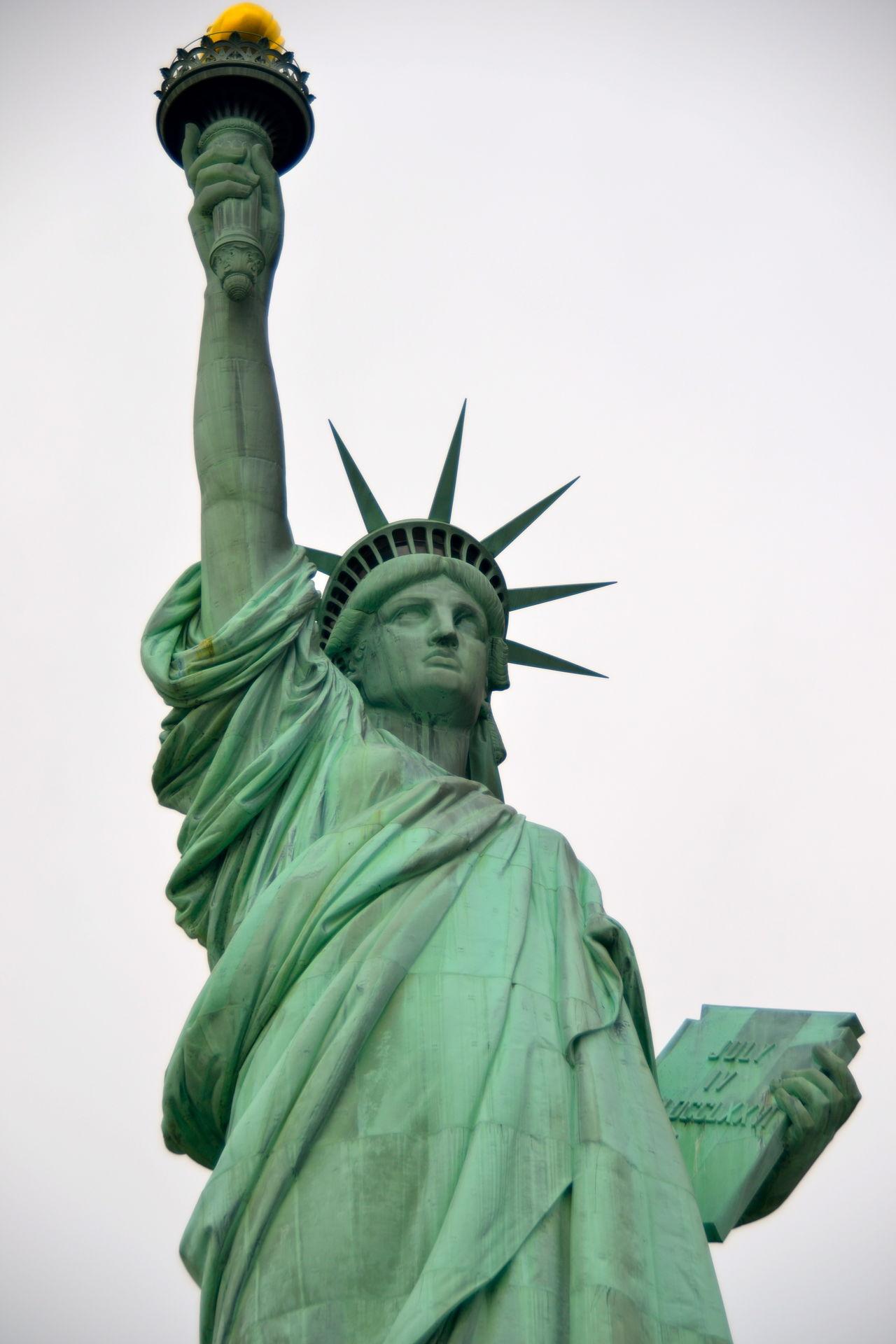 Beautiful stock photos of statue of liberty, Art, Art And Craft, Clear Sky, Craft