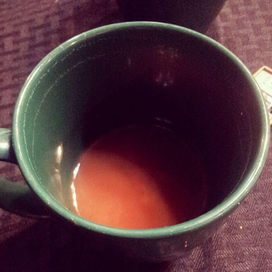 Hot Tea Orangepeoke Love warmth