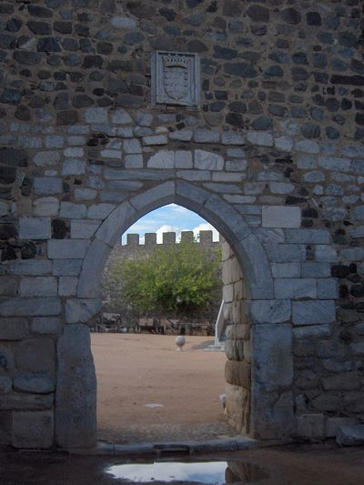 Algarve Arch Arched Architecture Archway Brick Wall Building Building Exterior Built Structure Day Entrance Gate History Old Outdoors Portugal Stone Stone Material Stone Wall The Past Wall Wall - Building Feature