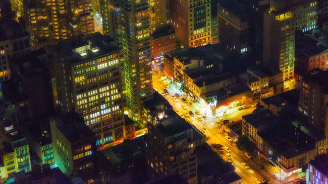 Glow Nightphotography Night Lights New York City Colors Lookdown MeltingPot The Architect - 2015 EyeEm Awards Aerial Shot Learn & Shoot: After Dark