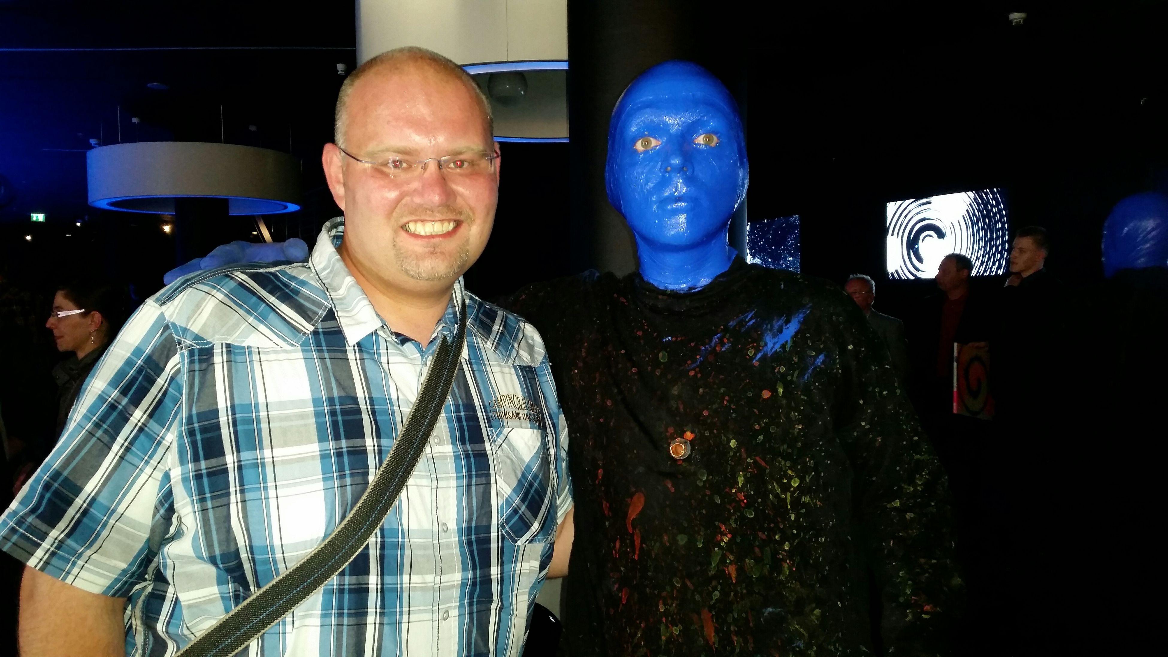 Berlin Bluemangroup Bluemax Blue Smile Picoftheday It's Me