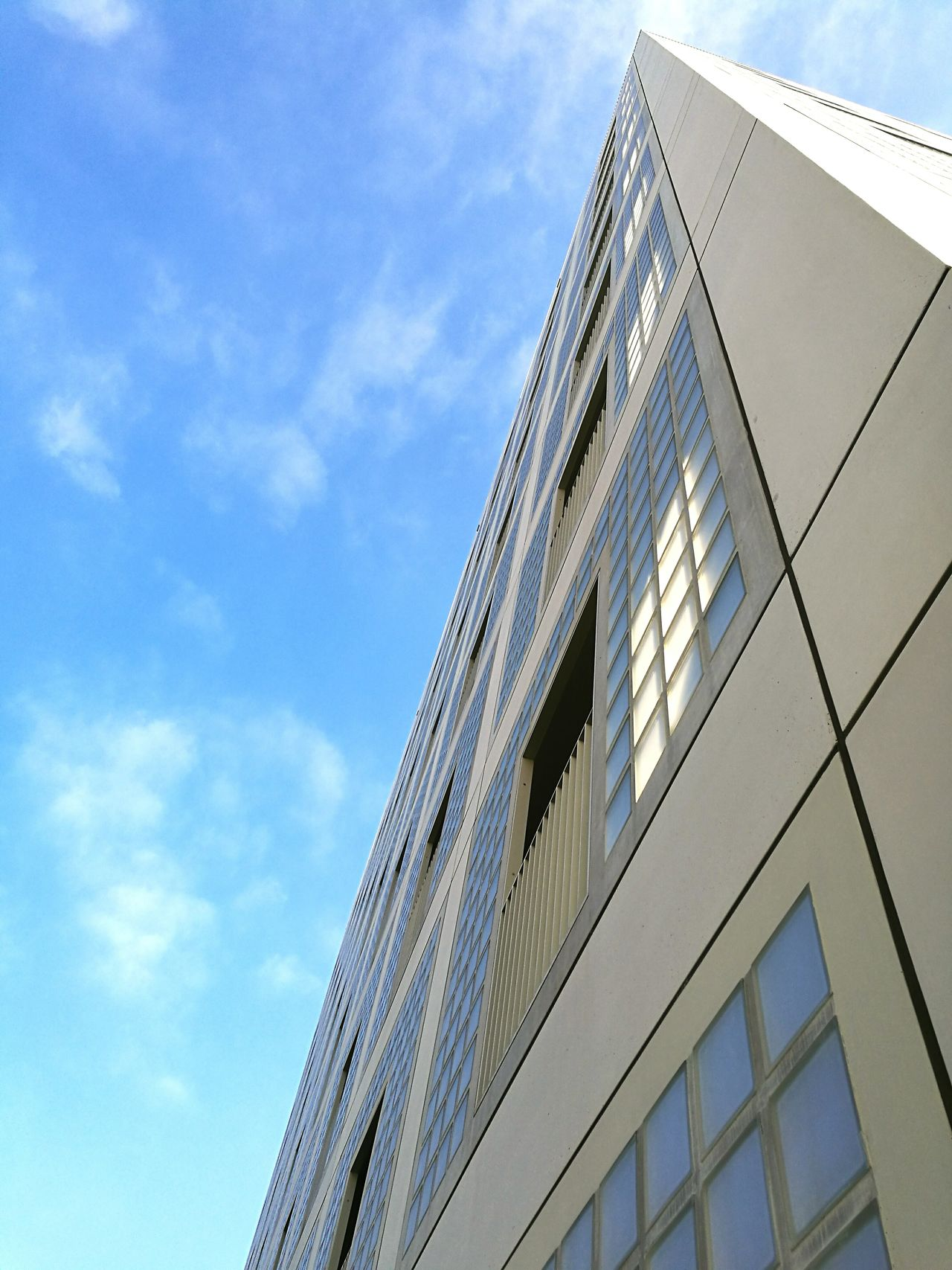Low Angle View Architecture Sky Built Structure Building Exterior Modern Skyscraper Outdoors Day No People Cloud - Sky Architecture Cityofstuttgart Library Building Cultural Center Stuttgartmobilephotographers 0711 HuaweiP9 Minimalist Architecture The Secret Spaces Break The Mold Art Is Everywhere The Architect - 2017 EyeEm Awards Neighborhood Map
