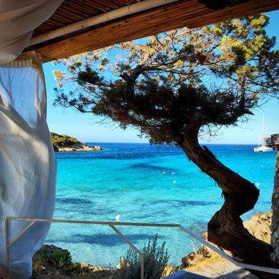 Orange Beach Bar view Porto Cervo Sardinia Work Sardegna Sun Summer Sea