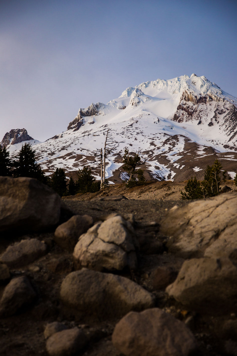 Canon 5DmkIII Beauty In Nature Cold Temperature Early Winter Hiking Landscape Mount Hood Mountain Mountain Peak Mountain Range Mt Hood Mt Hood Oregon Mt Hood State Forest Nature No People Oregon Mountain Oregon Outdoors Outdoors Snow Snowcapped Mountain Timberline Timberline Lodge