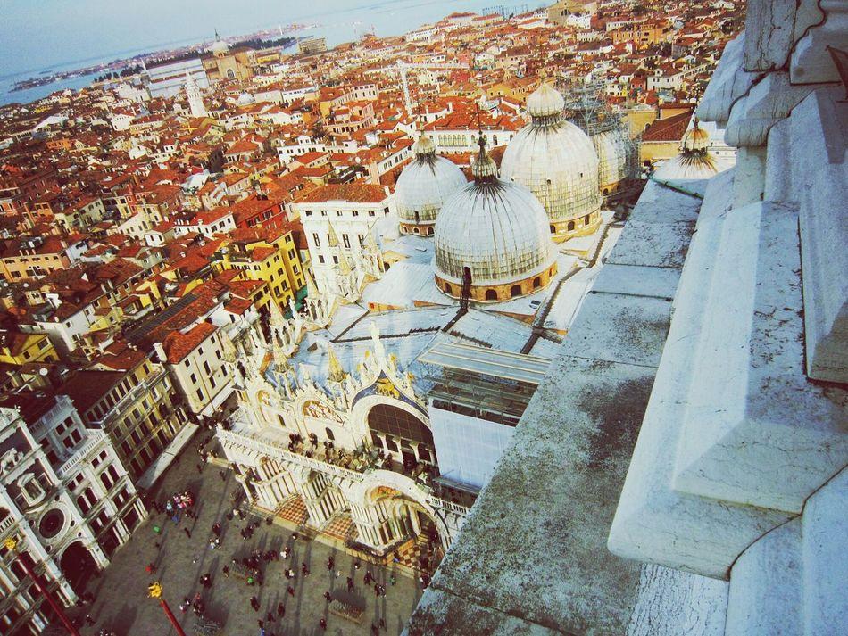 Basilica Di San Marco Roof Top Peace! City Life