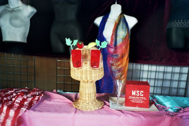 Window Shopping Window Display NYC Photography Analog Camera Klasse W NY