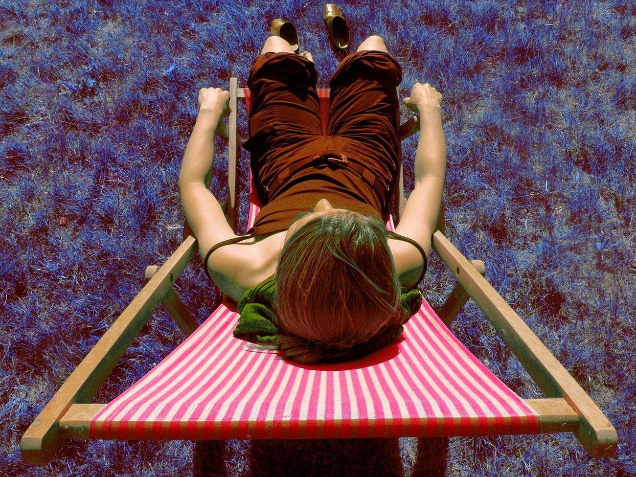 Summer Impressions Summer Woman Colour Portrait Colourmehappy Colouryourworld