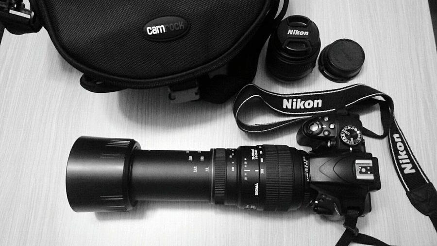 The Camera Nikond3300 Sigma 70-200mm Table Blackandwhite Nikkor 18-55 Camrock