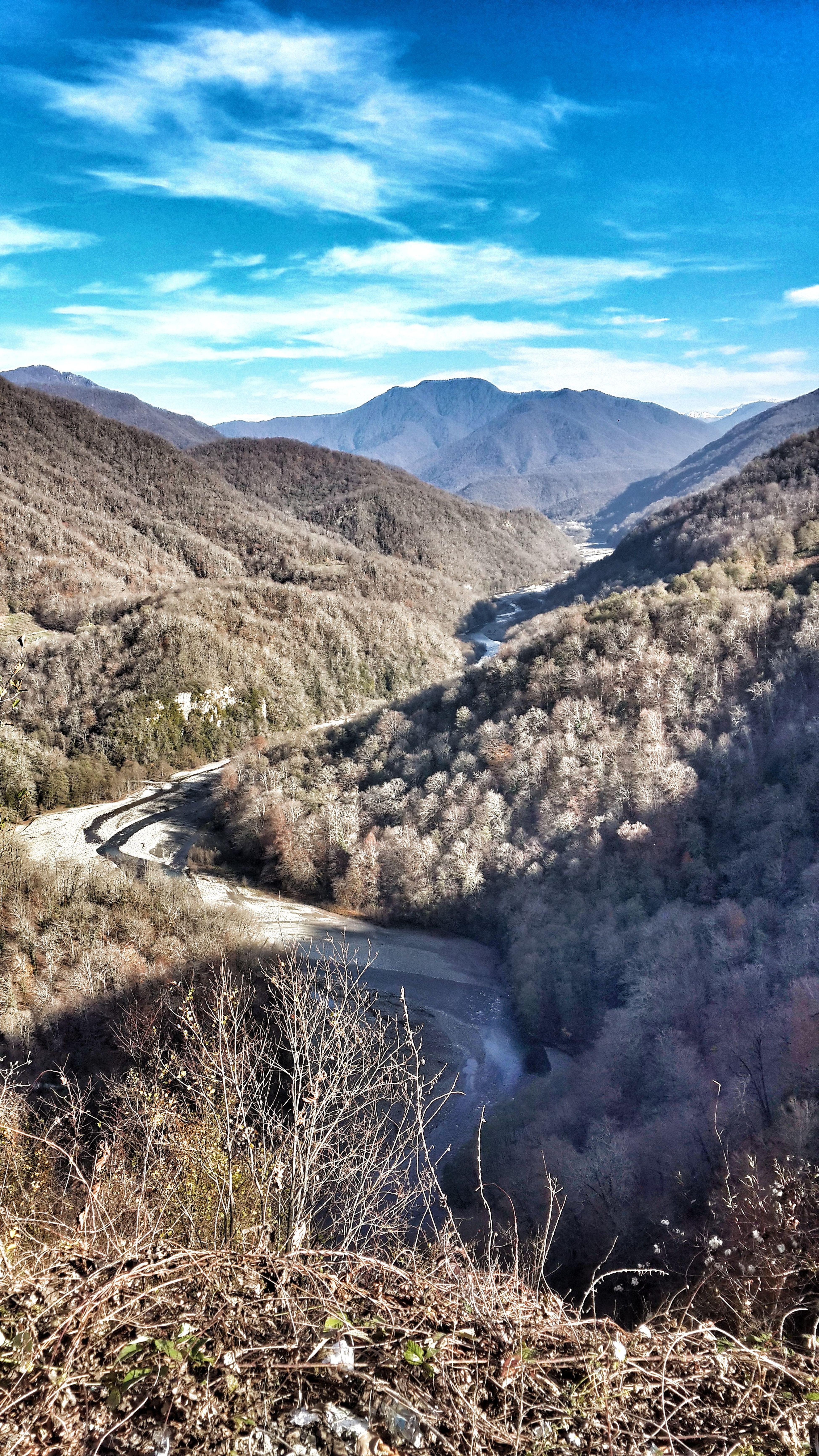 Mountains Mountain River