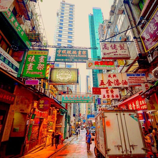 Big trouble in little Chinatown... Photography Travel Colors Explore Vacation Amazing Wanderlust Nikon Adventure Skyline Building Urban City HongKong Streetphotography Street Weekend TBT
