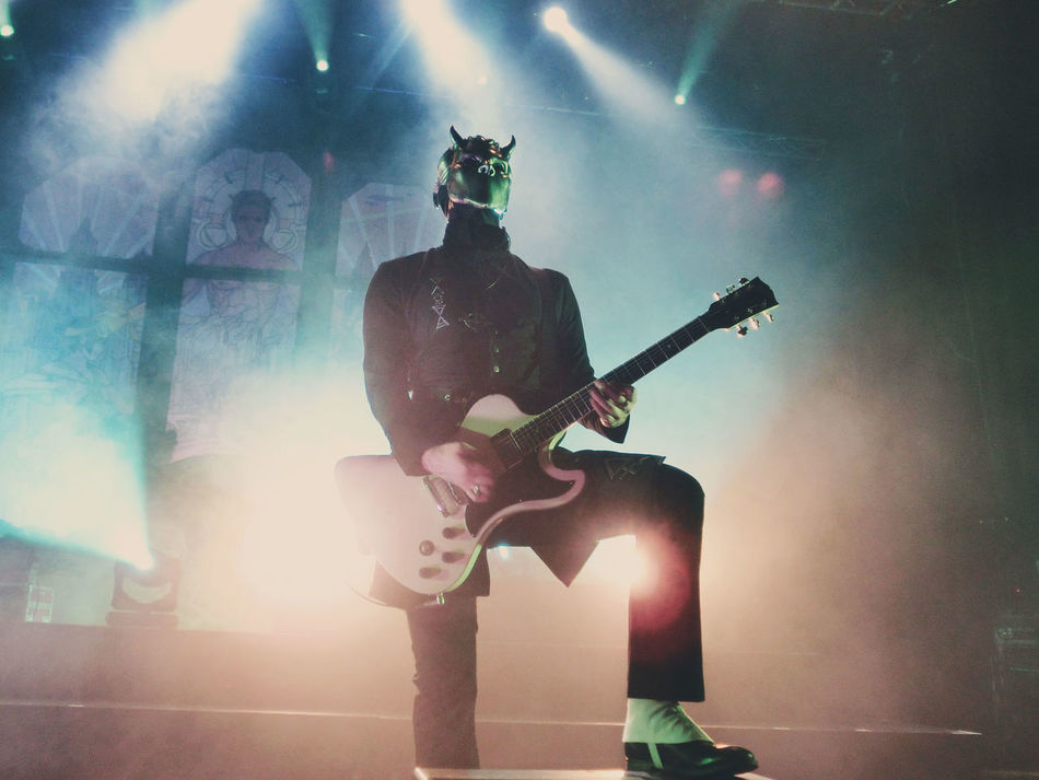 Ghost performing at Sentrum Scene, Oslo, Norway. 12th of November 2015. Band Concert Concert Photography Ghost Ghost Bc Lights Live Music Metal Music Musician Musicians Oslo Photo Photography Sentrum Scene Stage
