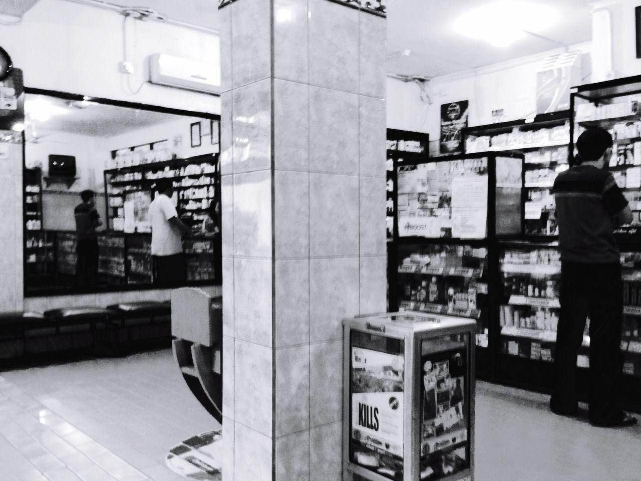 Drug store Blackandwhite streetphotography Jakarta