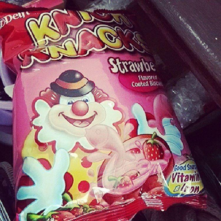 My old time snack Knickknacks Strawberryflavor Sweet Biscuit coatedbiscuit snacks