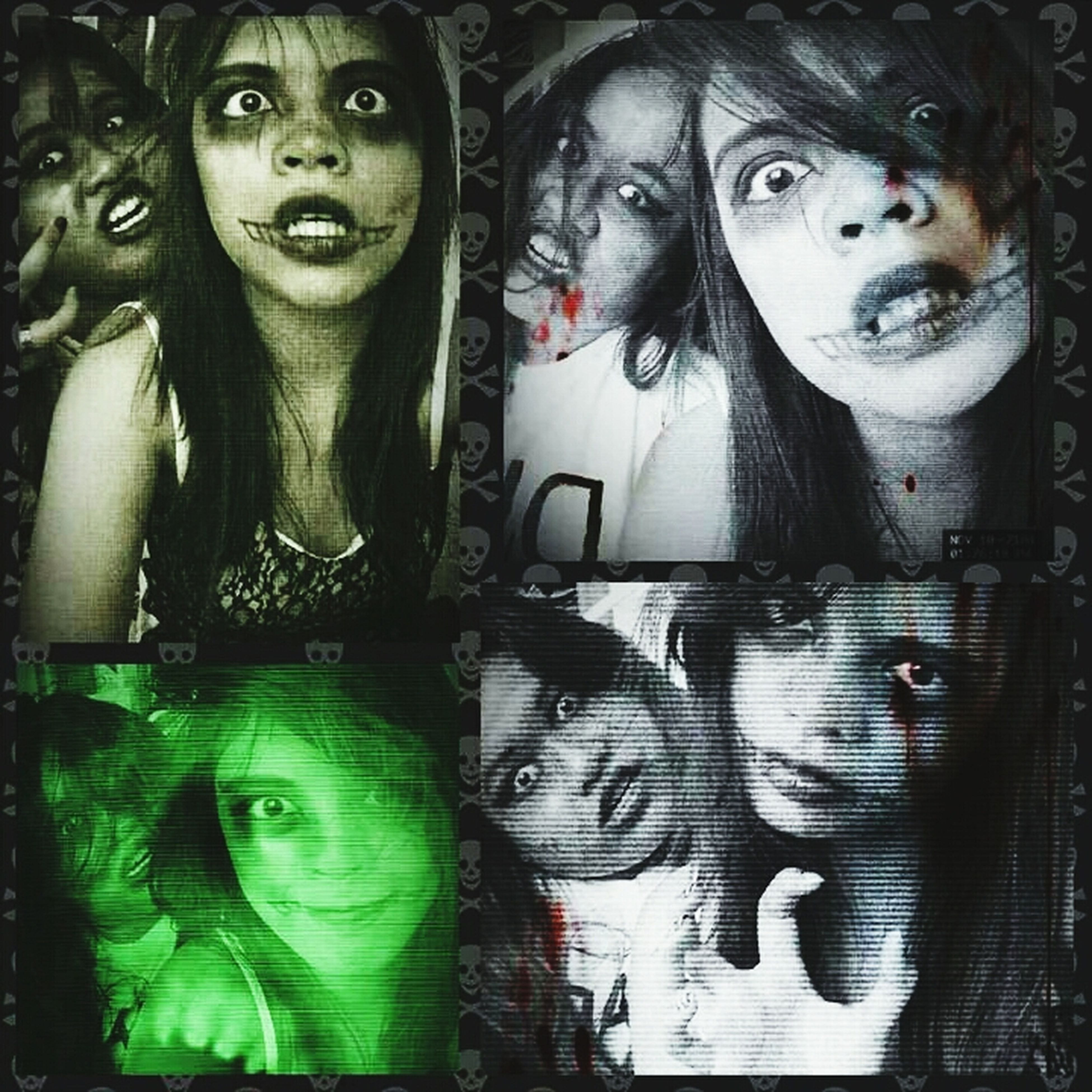 Halloween Horrors with my crazy cousin like me ?????
