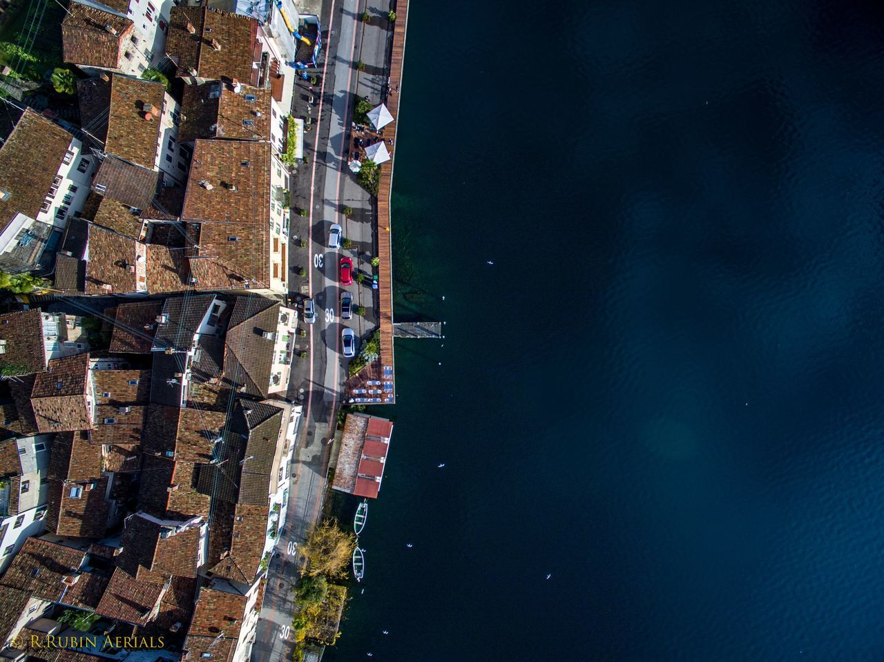 City Outdoors Sky No People Illuminated Architecture Day Cityscape Lakeshore Lakeside Roadscenes Pier Boats Village Lake View Lake Shore Lakescape Aerial Shot Aerial Perspective Aerial Photo Topdown