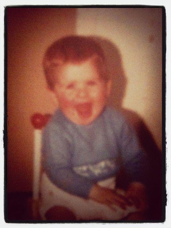 Duncan when he was a tot x